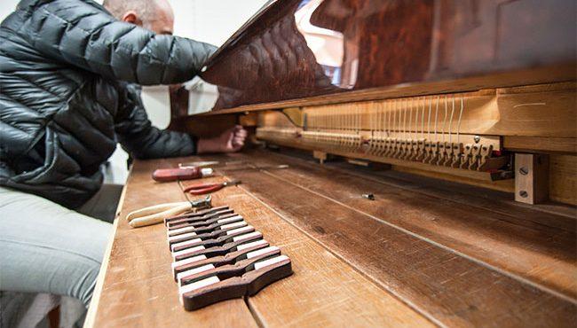 Restauration de piano à Chalon-sur-Saône